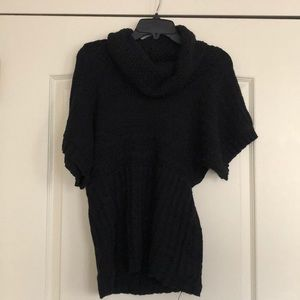 Charlotte Russe black cowl neck sweater
